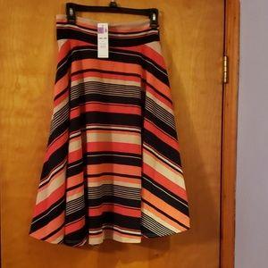 Agnes and Dora Midi Skirt, M NWT
